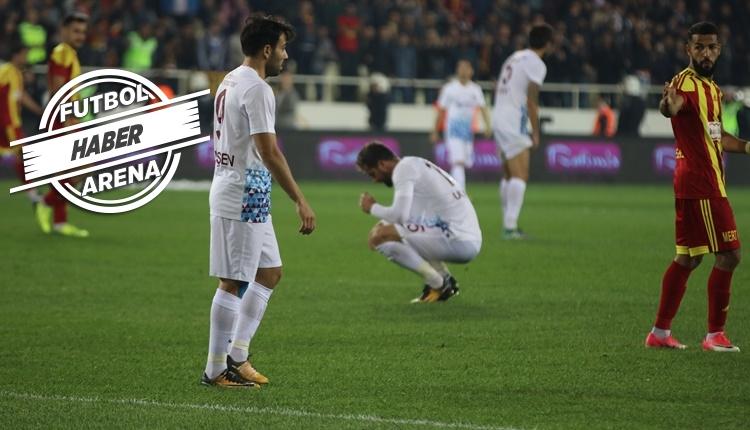 Trabzonspor'un yıldızları Galatasaray maçında cezalı mı?