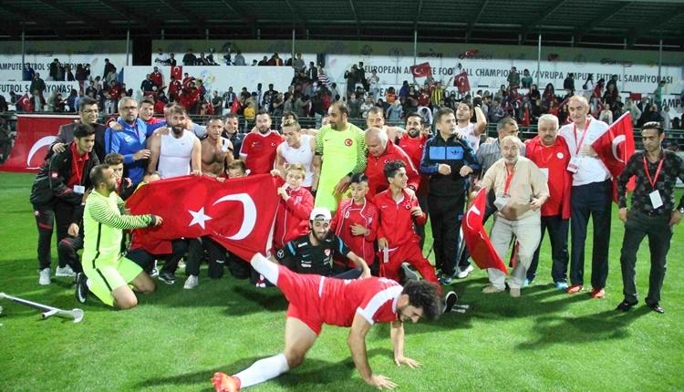 Türkiye - İngiltere Ampute Milli Takımı final maçı saat kaçta, hangi kanalda?