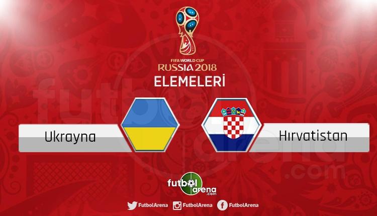 Ukrayna Hırvatistan canlı skor, maç sonucu - Maç hangi kanalda?