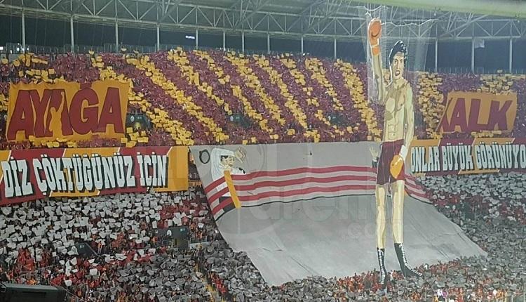 ultrAslan'dan çok konuşulan Galatasaray - Fenerbahçe maçındaki koreografi açıklaması
