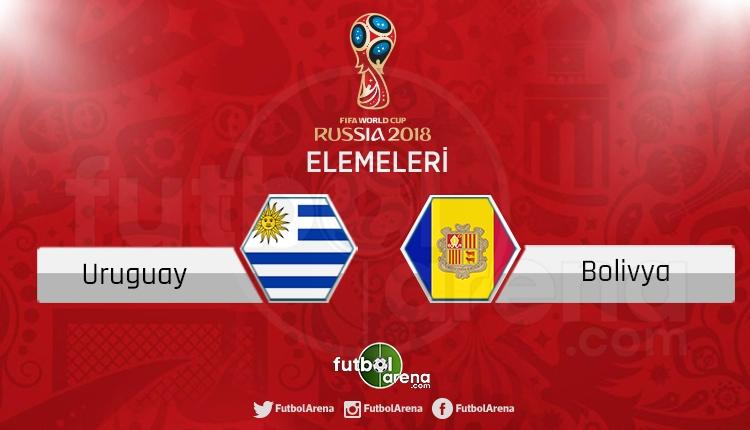 Uruguay Bolivya canlı skor, maç sonucu - Maç hangi kanalda?