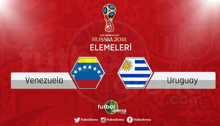 Venezuela Uruguay canlı skor, maç sonucu - Maç hangi kanalda? Şifresiz izle
