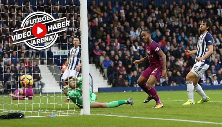 West Brom 2-3 Manchester City maçı özeti ve golleri (İZLE)