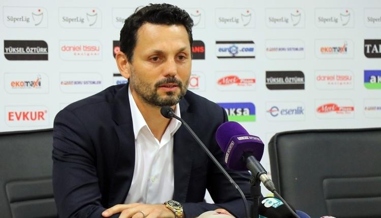 Yeni Malatyaspor'da Erol Bulut'un galibiyet sözleri