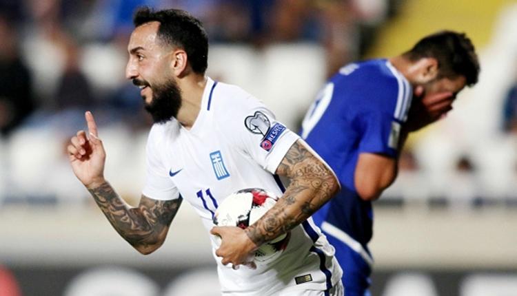Yunanistan'dan 2018 Dünya Kupası yolunda play-off adımı