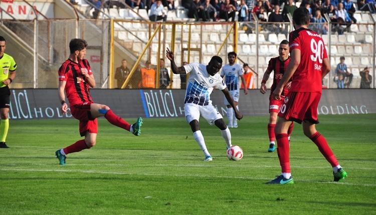 Adana Demirspor 2-2 Gazişehir Gaziantep maç özeti ve golleri