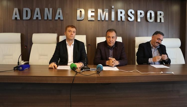 Adana Demirspor'dan MHK'ya tepki!