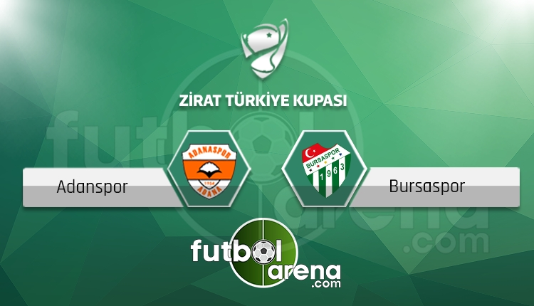 Adanaspor - Bursaspor saat kaçta, hangi kanalda? (İddaa Canlı Skor)