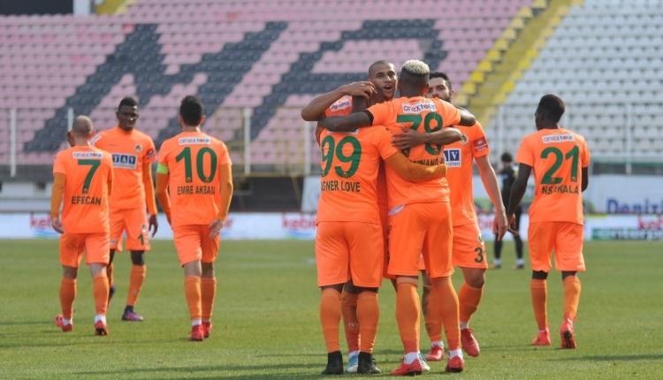 Akhisarspor 0 - 4 Aytemiz Alanyaspor maç golleri ve özeti (İZLE)