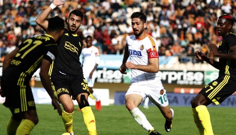 Alanyaspor 1 - 0Yeni Malataspor maç özeti ve golleri (İZLE)