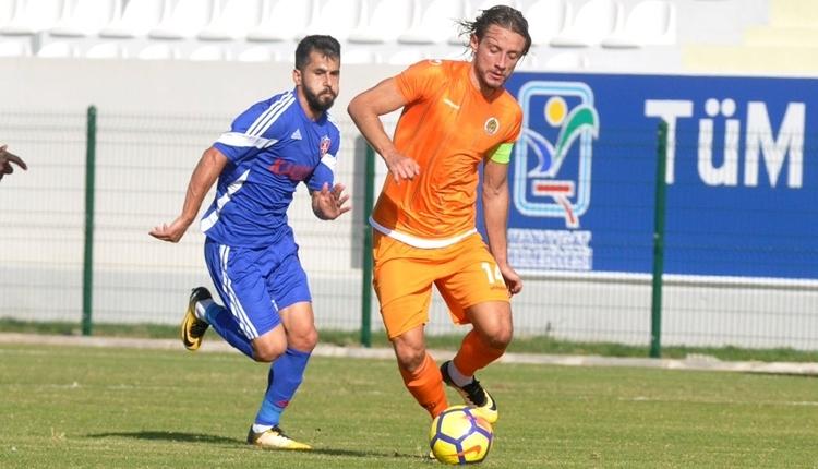 Alanyaspor - Karabükspor hazırlık maçı sonucu