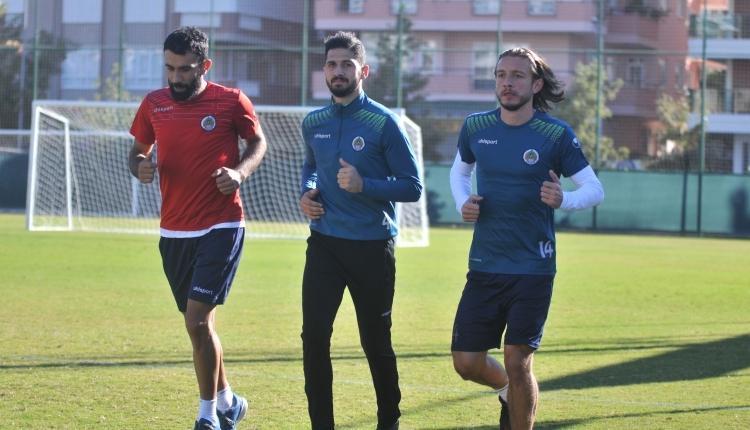 Alanyaspor'da Galatasaray maçı hazırlığı