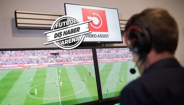 Almanya'da video hakem skandalı! Görevden alındı