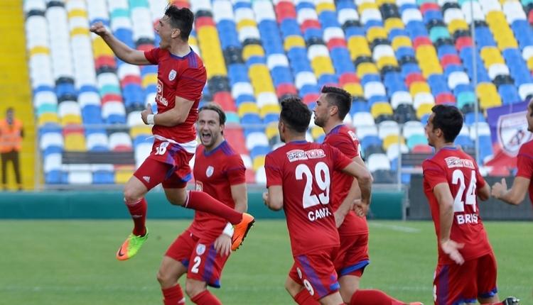 Altınordu 3-3 Giresunspor maç özeti ve golleri