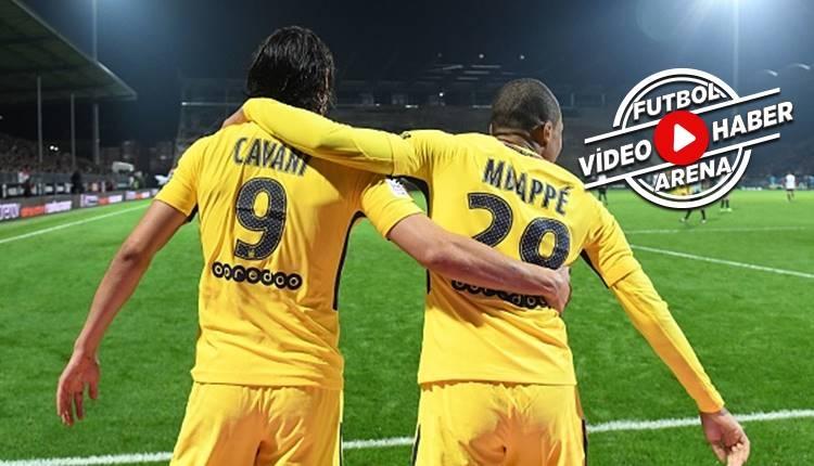 Angers 0-5 PSG maçı özeti ve golleri (İZLE)