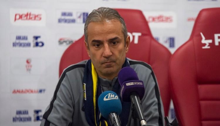 Ankaragücü Teknik Direktörü İsmail Kartal: