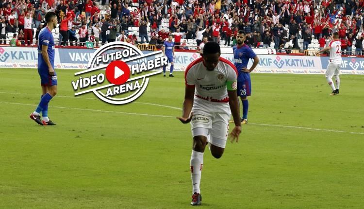 Antalyaspor 2-1 Karabükspor maçı özeti ve golleri (İZLE)