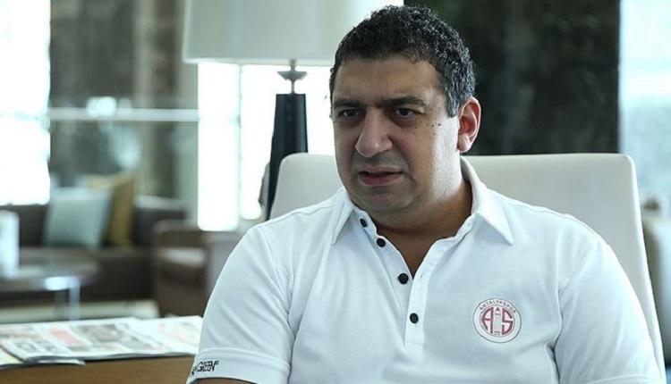 Antalyaspor Başkanı Ali Şafak Öztürk: