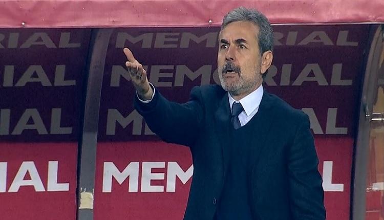 Antalyaspor - Fenerbahçe maçında Aykut Kocaman'ı şaşırtan an!
