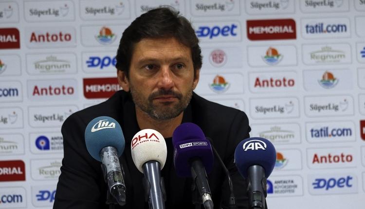 Antalyaspor'da Leonardo: 'Fenerbahçe galibiyeti hak etmedi'
