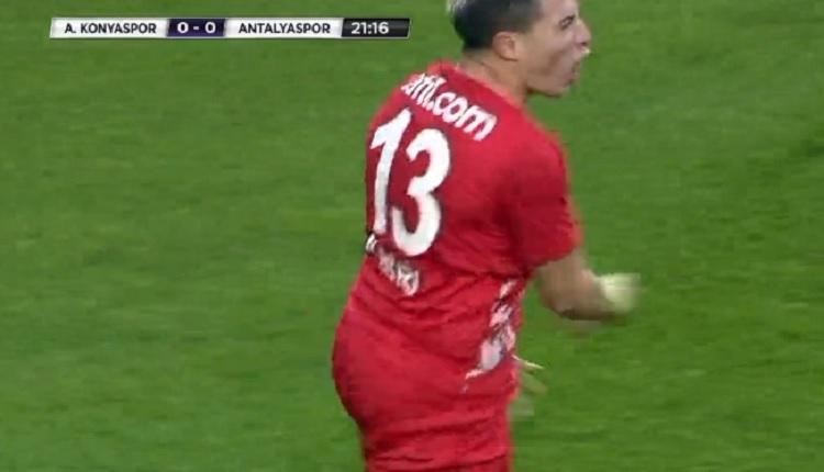 Antalyaspor'da Nasri çıldırdı! Konyaspor maçında hakeme küfür