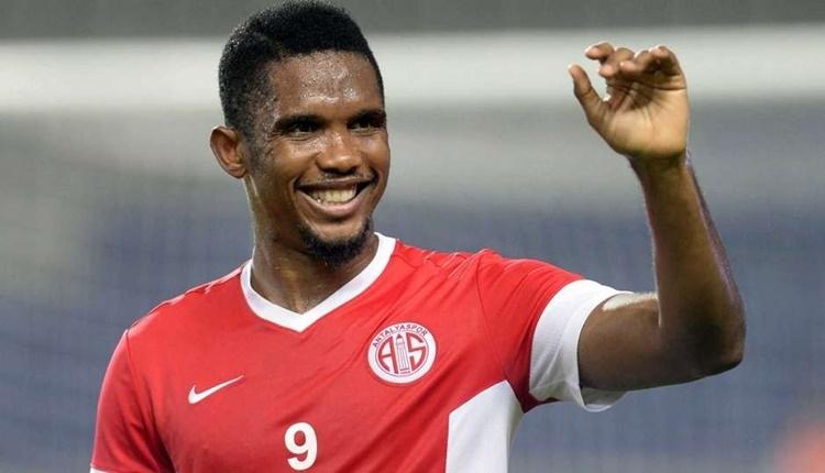 Antalyaspor'da Samuel Eto'o iç sahayı seviyor
