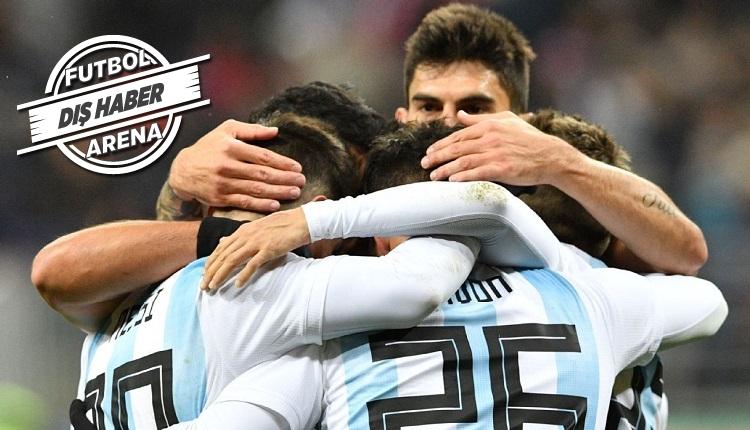 Arjantin, İtalya'yı küçük gördü! Maçtan vazgeçtiler