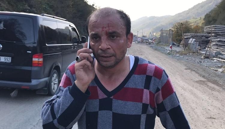 Artin'de deplasman otobüsüne saldırı: 10 yaralı