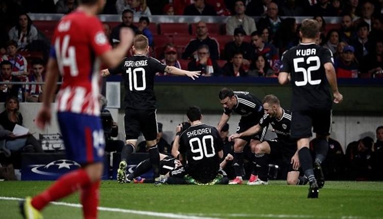 Atletico Madrid 1-1Karabağ maç özeti ve golleri (İZLE)
