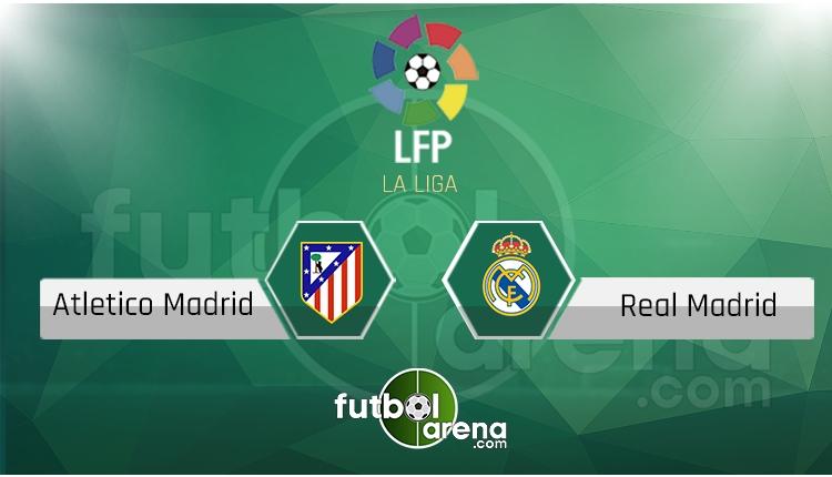 Atletico Madrid - Real Madrid saat kaçta, hangi kanalda? (İddaa Canlı Skor)