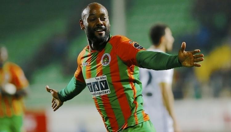 Aytemiz Alanyaspor'da Galatasaray maçı öncesi Vagner Love'dan kötü haber