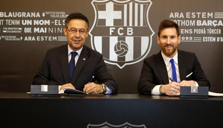 Barcelona, Lionel Messi ile 3 yıl uzattı