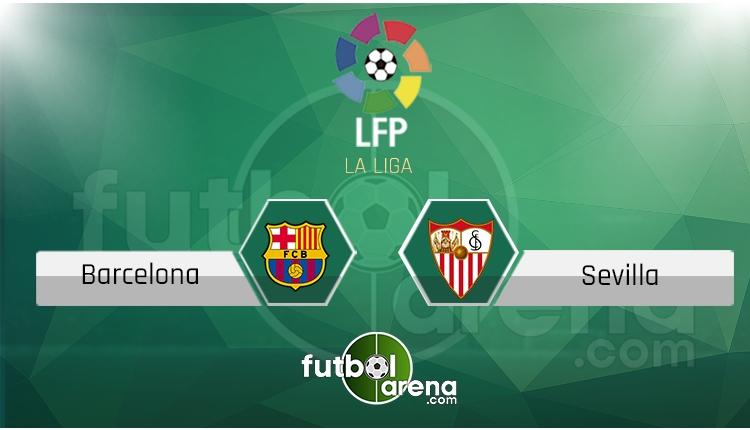Barcelona - Sevilla canlı skor, maç sonucu - Maç hangi kanalda?