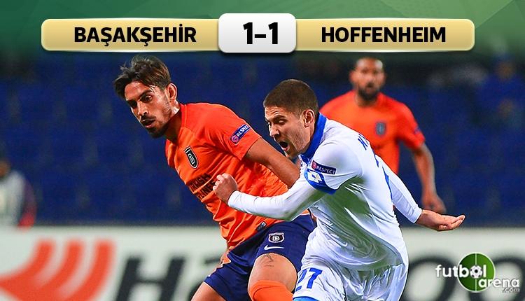 Medipol Başakşehir 1-1 Hoffenheim maç özeti ve golleri (İZLE)