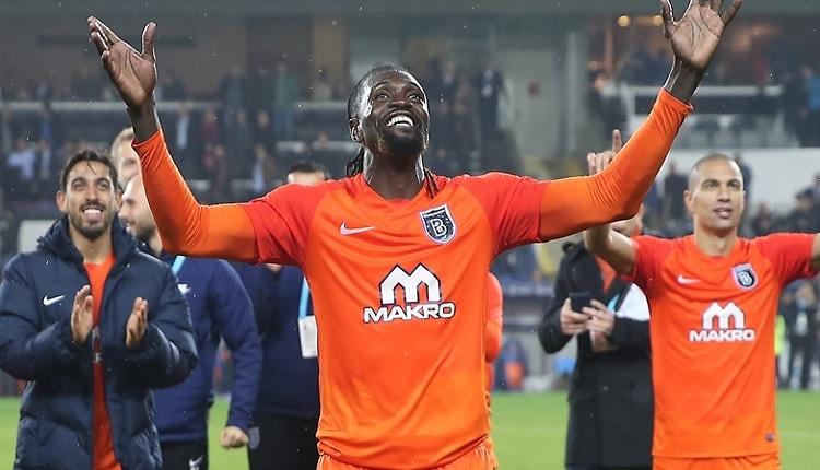 Başakşehir'de Adebayor'dan Beşiktaş örneği