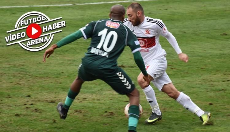 Batman Petrolspor 0-3 Konyaspor maçı özeti ve golleri (İZLE)