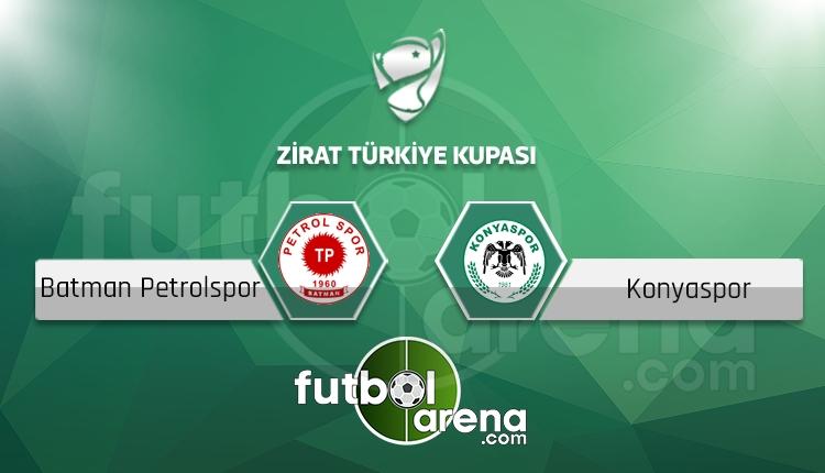 Batman Petrolspor - Konyaspor maçı saat kaçta, hangi kanalda? (İddaa Canlı Skor)