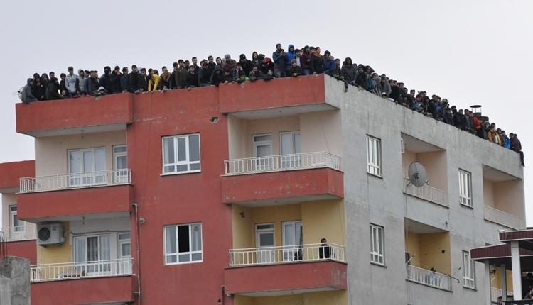 Batman Petolspor - Konyaspor maçında ilginç görüntü!