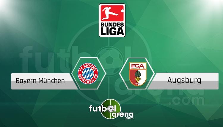 Bayern Münih - Augsburg saat kaçta, hangi kanalda? (İddaa Canlı Skor)