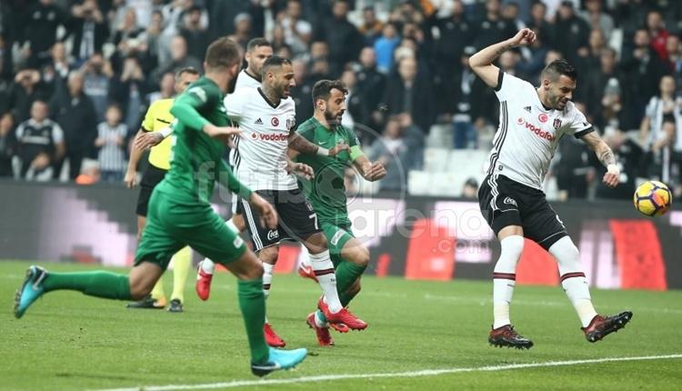 Beşiktaş - Akhisarspor maçı Vodafone Park tarihine geçti