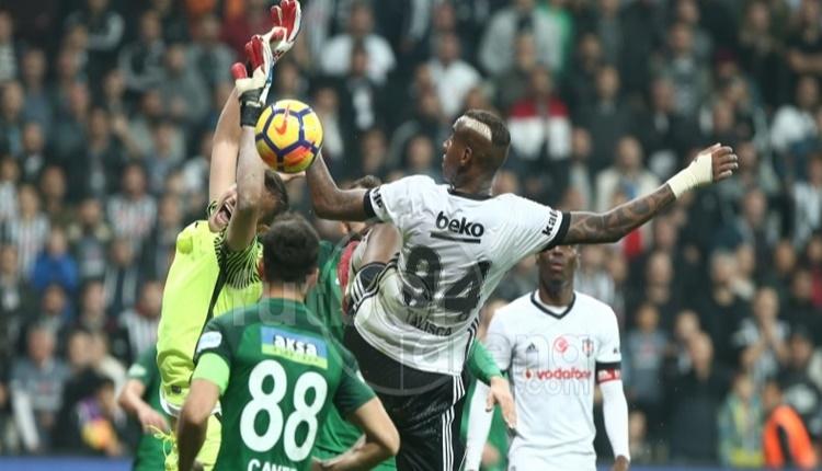 Beşiktaş, Akhisarspor maçında orta rekoru kırdı