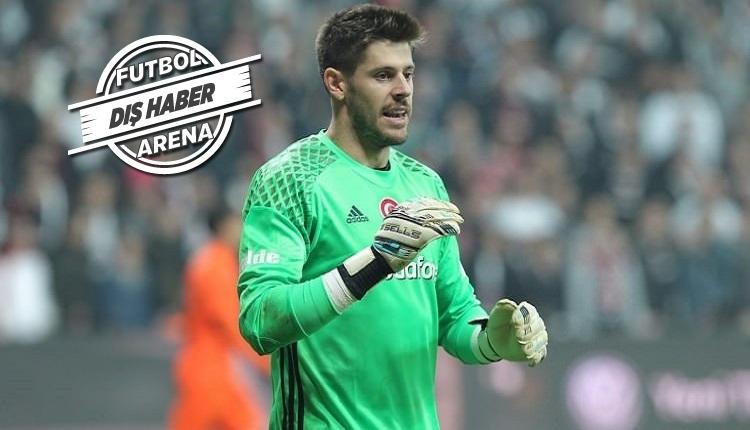 Beşiktaş kalecisi Fabri: