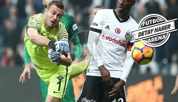 Beşiktaş'a karşı Lukac sezonun en iyi maçını oynadı