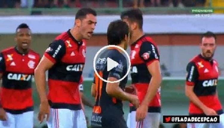 Beşiktaşlı eski futbolcu Rhodolfo'nun Flamengo'da kavgası: