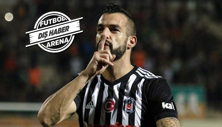 Beşiktaşlı Negredo'dan Marca'ya açıklama: 'Taraftarımızın yanına yaklaşamazlar.