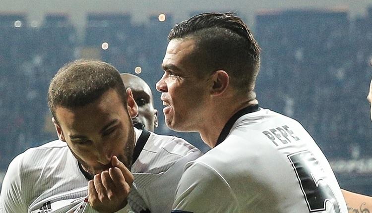 Beşiktaşlı Pepe: 'Türk futbolunu çok iyi temsil ediyoruz'