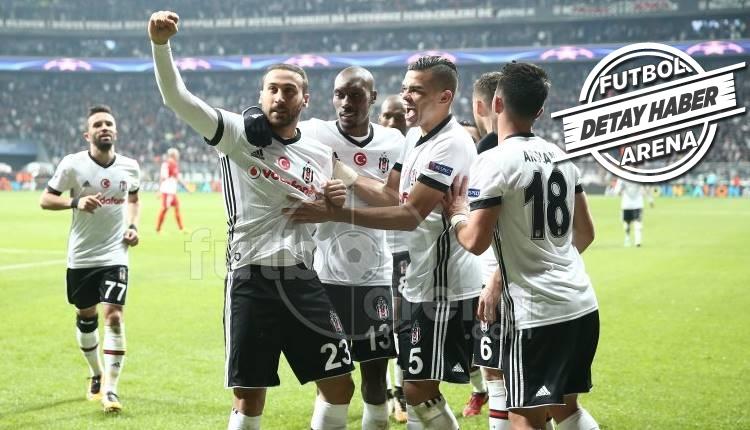Beşiktaş'ta Cenk Tosun tarihe geçti