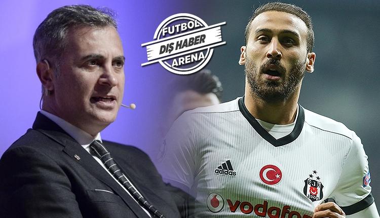 Beşiktaş'ta Fikret Orman'dan Cenk Tosun sözleri