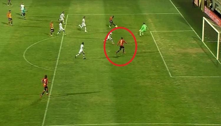 Beşiktaş'ta Göztepeli Ghilas'ın golüne ofsayt tepkisi