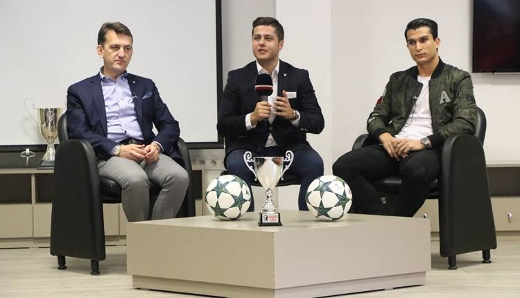 Beşiktaş'ta Necip Uysal ve Metin Albayrak'tan gençlere tavsiyeler